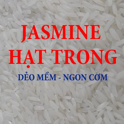 GẠO JASMINE HẠT TRONG – DẺO MỀM