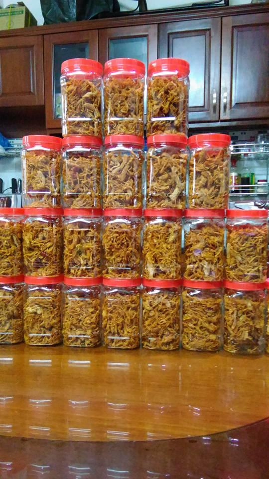 Chà Bông Heo Cay - Hũ 100Gr